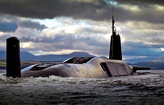 Британская субмарина класса Vanguard