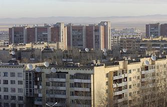 Центр города Краснокаменск