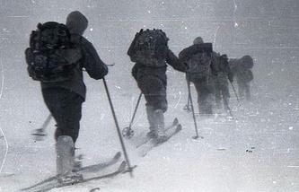 Снимок, сделанный группой Дятлова в последнем походе