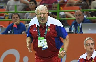 Главный тренер женской сборной России по гандболу Евгений Трефилов