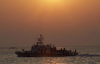 Корабль береговой охраны Республики Корея