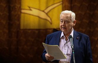 Художественный руководитель МХТ имени Чехова Олег Табаков