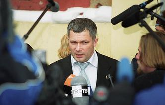Адвокат родственников пострадавших от теракта на Дубровке Игорь Трунов, 2003 год