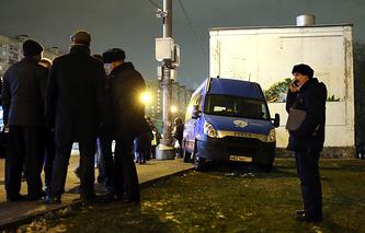 Состояние сбитых маршруткой людей в Москве оценивается как средней тяжести