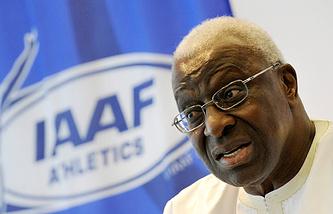 Бывший глава Международной ассоциации легкоатлетических федераций Ламин Диак