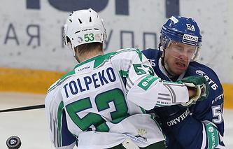 Денис Толпеко (слева)