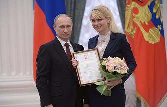 Владимир Путин и Наталия Гарт