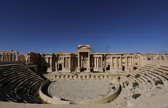 Римский театр в Пальмире, 2016 год