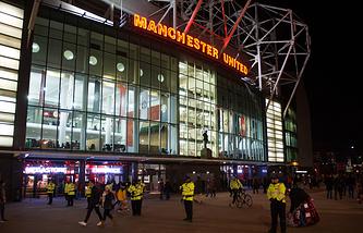 "Стадион ""Олд Траффорд"" в Манчестере"