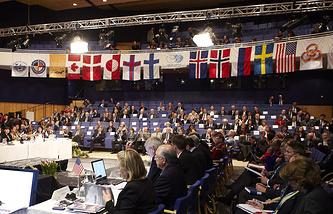 Заседание Арктического совета, Гренландия, 2011