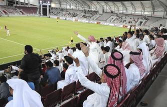 """Стадион """"Халифа"""" в столице Катара"""