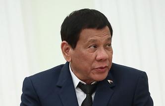Президент Филиппин Родриго Дутерте, Москва, 23 мая