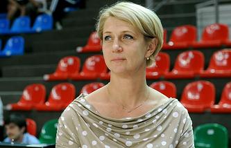 Олимпийская чемпионка 1992 года по баскетболу Елена Швайбович