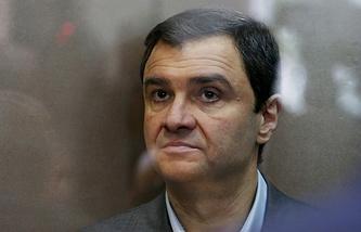 Экс-заместитель министра культуры РФ Григорий Пирумов во время слушания дела в Дорогомиловском суде