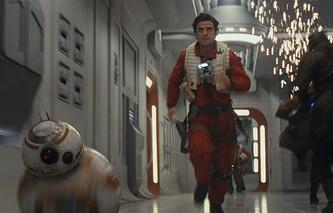 """Кадр из фильма """"Звездные войны: Последние джедаи"""""""
