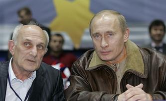 Анатолий Рахлин и Владимир Путин. Фото ИТАР-ТАСС/Дмитрий Астахов