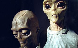 """Выставка """"Пришельцы из космоса"""". Фото из архива ИТАР-ТАСС"""