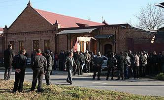 Место убийства Виталия Караева. Архив. Фото ИТАР-ТАСС/ Георгий Гогичаты