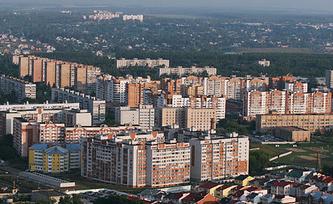 Один из микрорайонов Рязани. Фото ИТАР-ТАСС/ Александр Рюмин