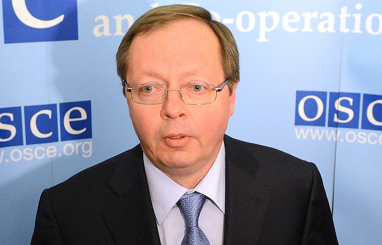 Russia's Ambassador to the Organization for Security and Cooperation in Europe (OSCE) Andrei Kelin