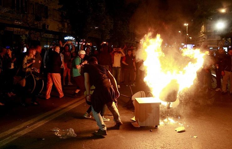 Беспорядки в Скопье