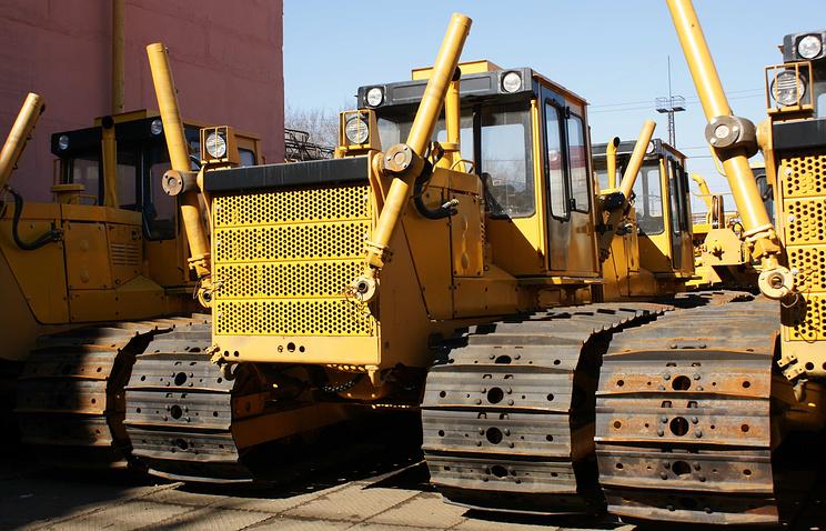Болотоходные тракторы Челябинского тракторного завода