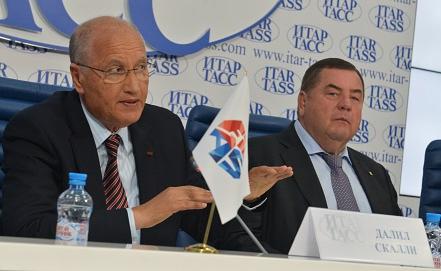 Президент ФИАС Василий Шестаков  Фото ИТАР-ТАСС/Юрий Машков