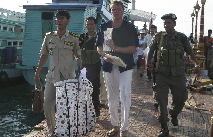 Арест Сергея Полонского в Камбодже