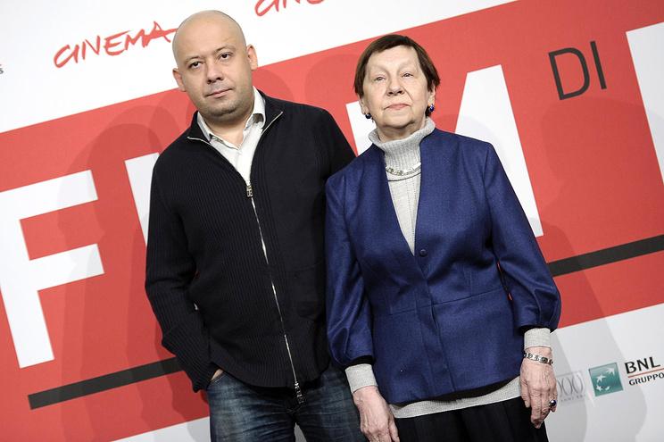 Алексей Герман-младший и Светлана Кармалита.