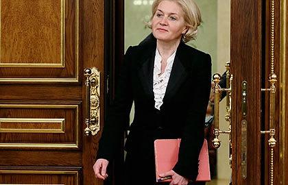 Вице-премьер РФ Ольга Голодец. Фото ИТАР-ТАСС/ Екатерина Штукина