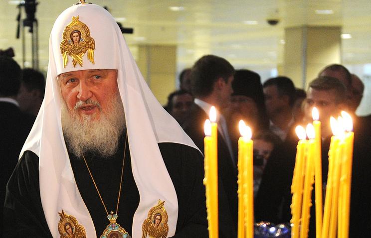 Патриарх Кирилл.