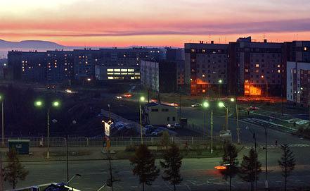 Ангарск. Фото ИТАР-ТАСС/ Владимир Зинин