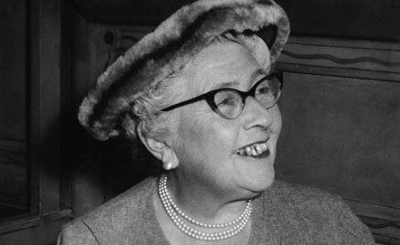 Агата Кристи, 1957 год. AP Photo