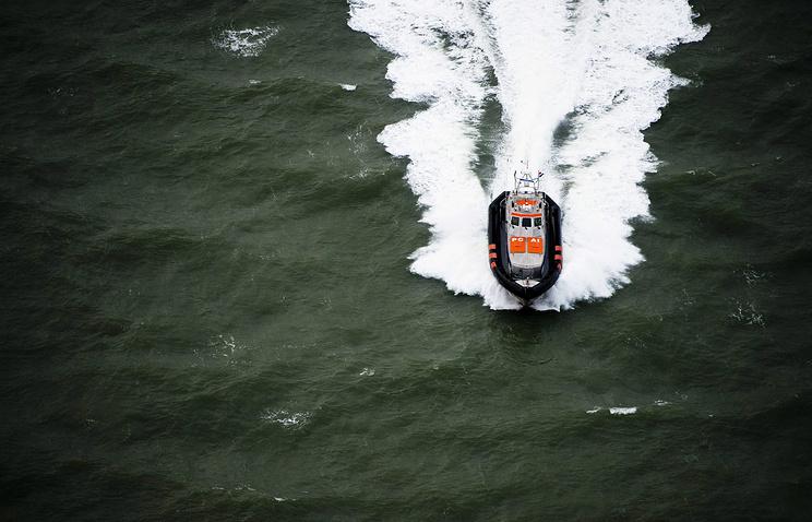 Спасательная операция в Северном море