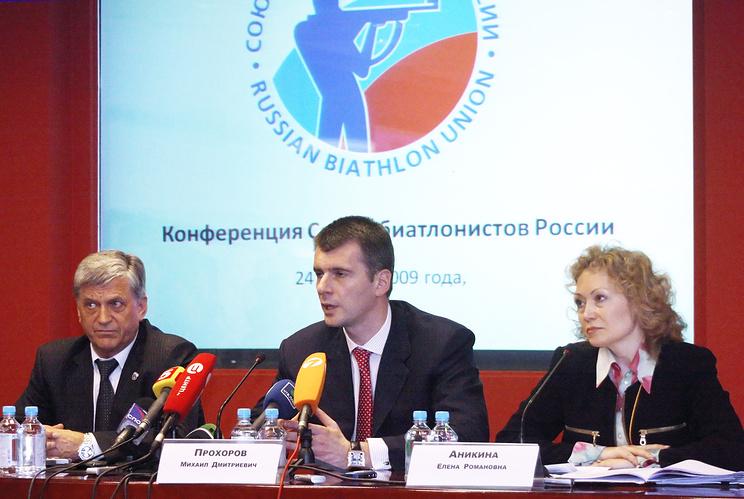 Александр Тихонов и Михаил Прохоров