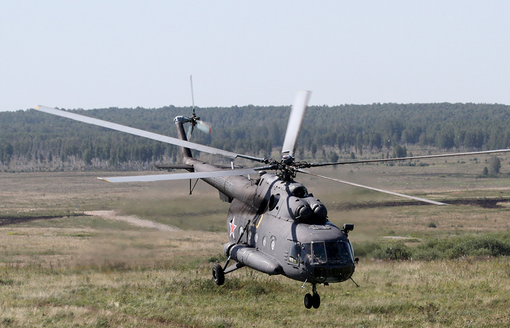 Архив. Вертолет Ми-8
