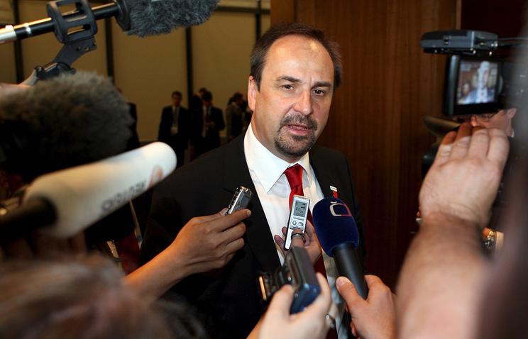 Министр иностранных дел Чехии Ян Когоут