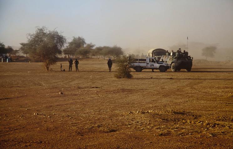 Малийский город Кидаль, ноябрь 2013
