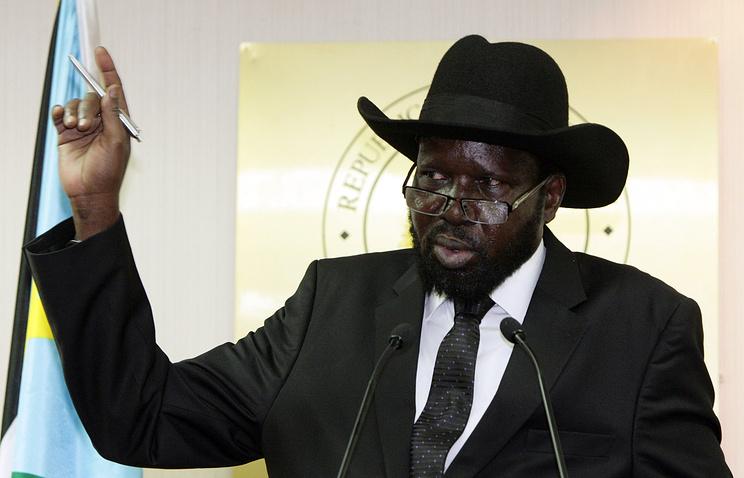 Президент Южного Судана Сальва Киир