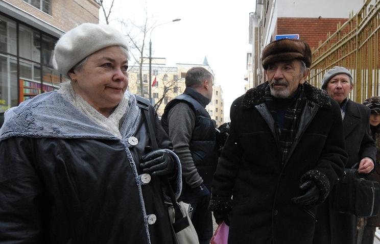 Родители Михаила Ходорковского Марина Филипповна и Борис Моисеевич