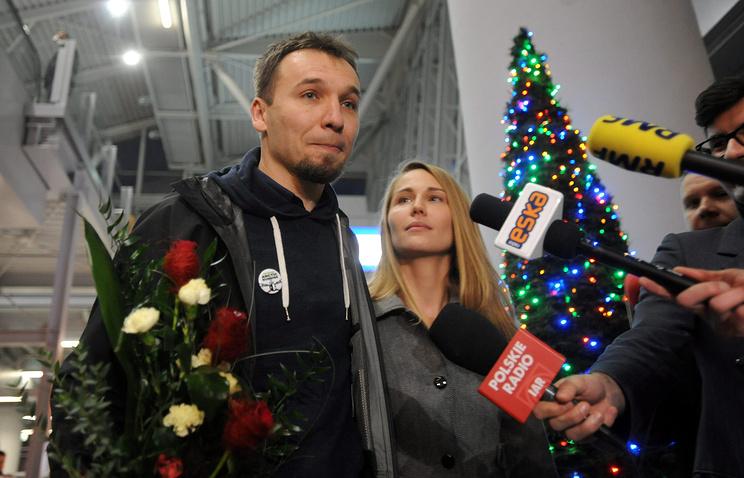 Активист Greenpeace Томаш Дземянчук