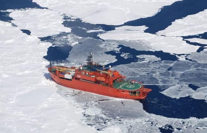 Австралийский ледокол Aurora Australis
