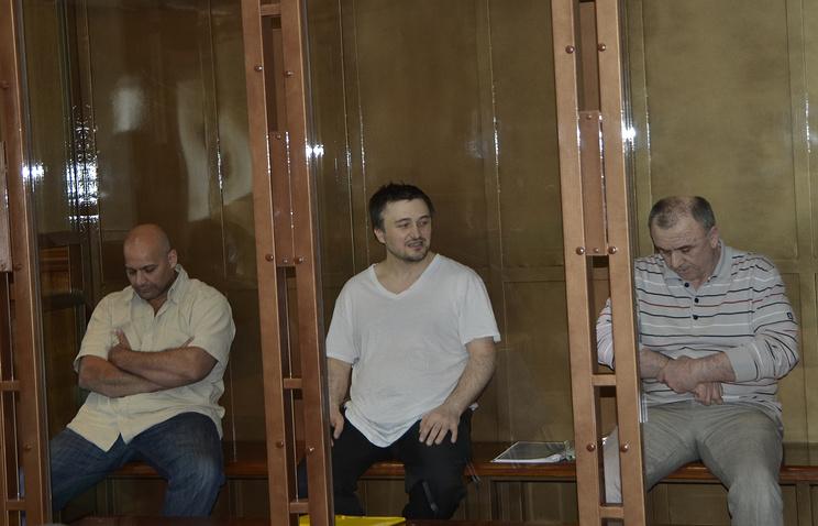 Бывший сотрудник МВД Сергей Хаджикурбанов, Рустам Махмудов и Лом-Али Гайтукаев
