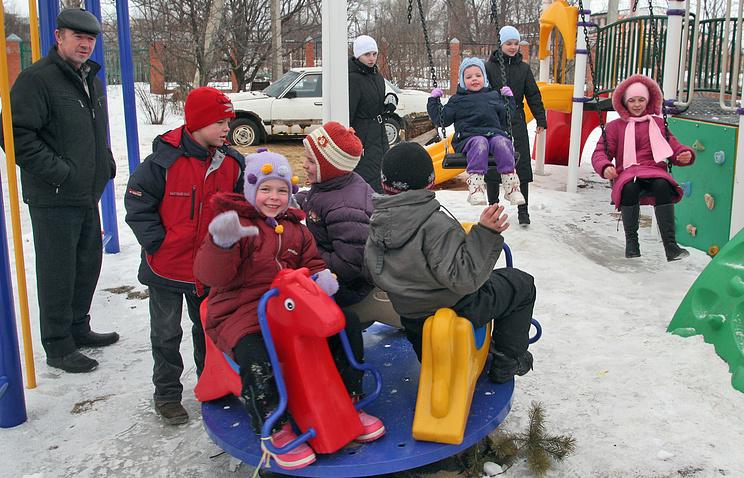 Самая многодетная семья России, занесенная в Книгу рекордов Гиннесса. Родители воспитывают 20 детей. 2008 год