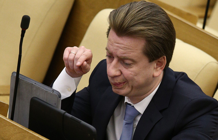 Депутат Госдумы Владимир Бурматов
