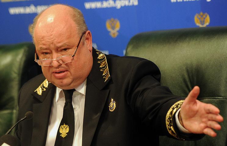 Аудитор Счетной палаты РФ Сергей Агапцов