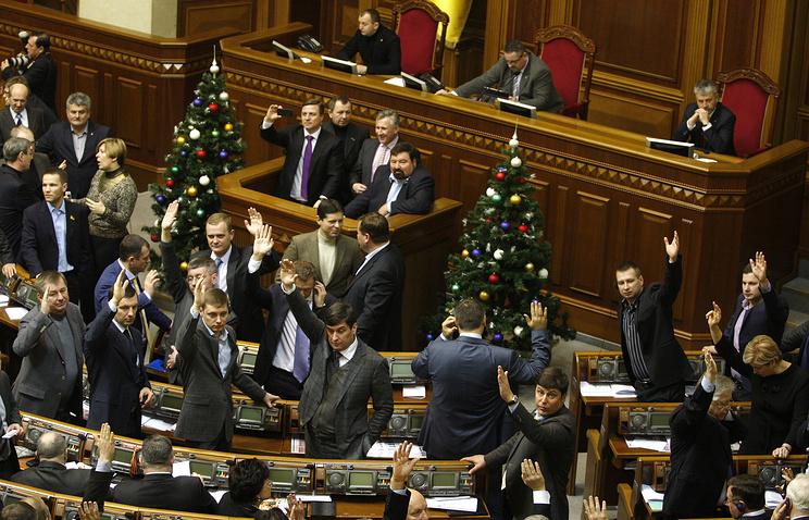 Заседание Верховной Рады Украины 16 января