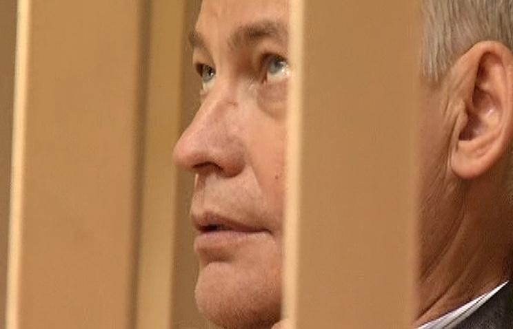 Виктор Ардабьевский в зале заседаний Пресненского суда
