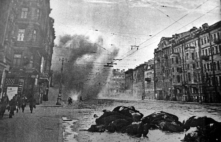 Артобстрел Невского проспекта в дни Великой отечественной войны (1941-1942 гг.)