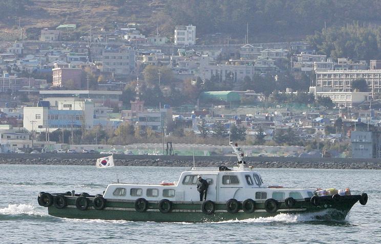 Южнокорейский порт Йосу